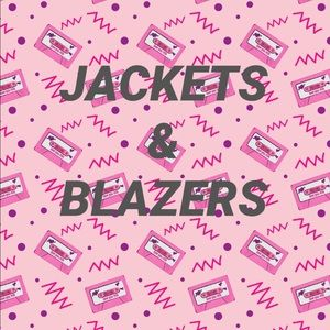 JACKETS & BLAZERS AVAILABLE FOR PURCHASE